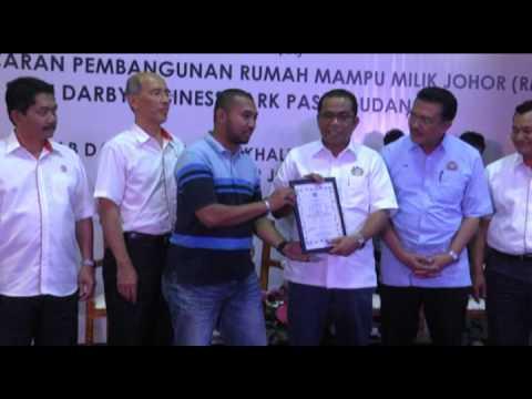 Pembangunan Projek RMMJ di Johor