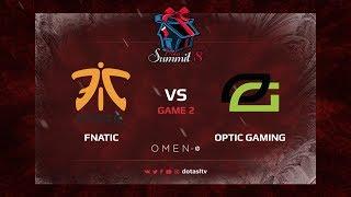 Fnatic против Optic Gaming, Вторая карта, первая часть, Групповой Этап Dota Summit 8