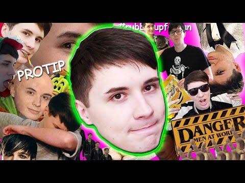 The Top Dan Memes of 2016 (видео)