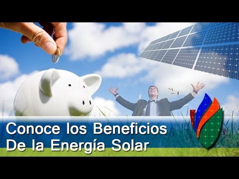 Los beneficios de la energía solar