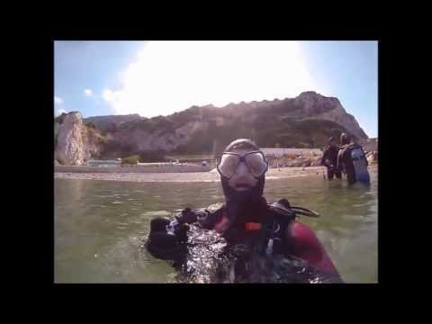Icy Bay Camping How to - Shore entry Dive @ Camp Bay Gibraltar.