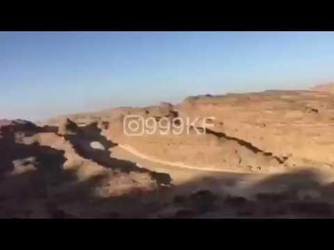 #فيديو : مواجهة مباشرة بين 3 مقاتلين سعوديين وعناصر حوثية
