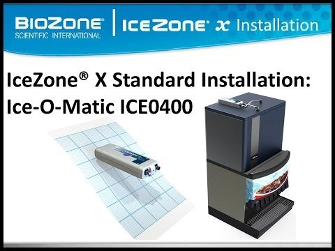 BioZone Scientific IceZone Installation on An Ice-O-Matic ICE0400 Ice Machine
