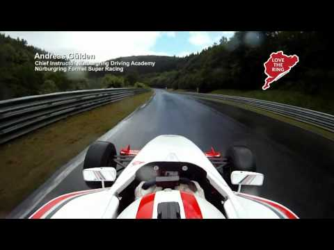 Chief Instructor of the Nurburgring Driving Academy Takes a Hotlap