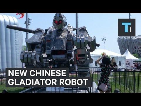 China has Entered the Megabot Challenge