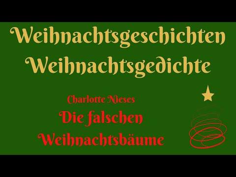 """Weihnachten zum Hören: """"Die falschen Weihnachtsbäume"""" von Charlotte Niese видео"""