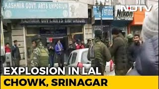Explosion At Srinagar's High-Security Lal Chowk Damages Shops, Vehicles