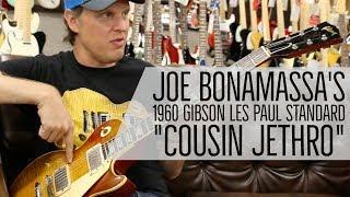 "Joe Bonamassa's 1960 Gibson Les Paul Standard ""Cousin Jethro"" at Norman's Rare Guitars"