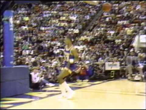 0 Michael Jordan Wins His First Dunk Contest