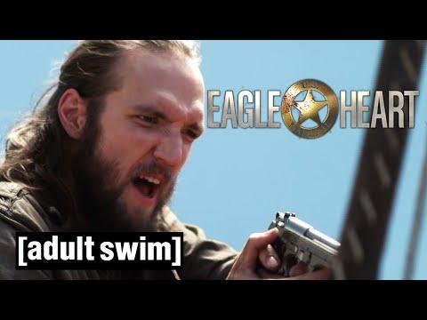Eagleheart | Sky Crimes | Adult Swim UK 🇬🇧