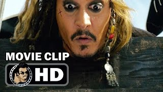 PIRATES OF THE CARIBBEAN: DEAD TELL NO TALES Movie Clip - Guillotine (2017) Johnny Depp by JoBlo HD Trailers