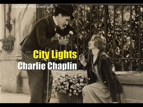 Charlie Chaplin - Flower Girl Sequence - City Lights