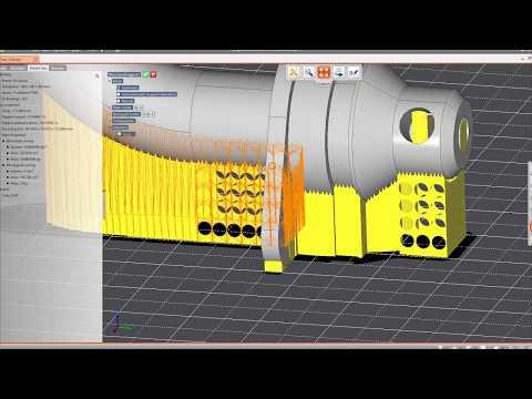 Préparation des données CAO pour la fabrication additive Analyses des modèles CAO pour la fabrication additive / Optimisation de la géométrie pour les technologies additives...
