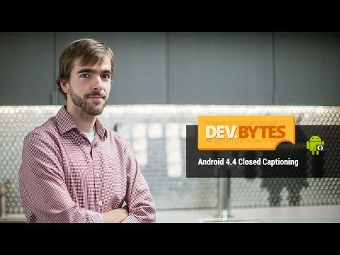 Closed - Displaying closed captions in your app's videos can be quick and simple in Android 4.4 KitKat,. Learn how to attach timed text tracks to VideoView and allow ...