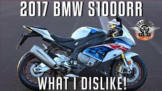 7. What I Dislike About The 2017 BMW S1000RR | BMW S1000RR Motovlog in Hawaii