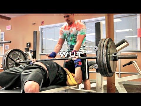 Well I Tried – Bench Press Overload