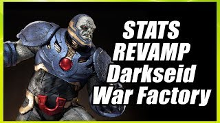 DC Universe Online 2017 In this video i share the footage of our test of Darkseid War Factory on the Stats Revamp, to check out ...