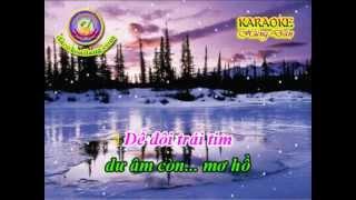Karaoke Vong Co - Ky Niem Mua Dong - HD