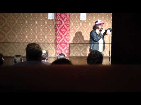 Judah Friedlander doing standup in NYC