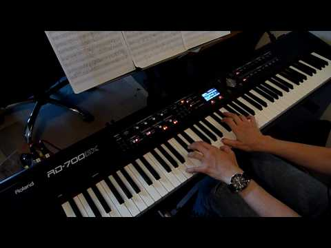 Nine Inch Nails - The Great Below - piano cover [HD] Video