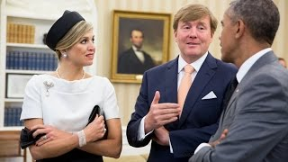 Video The President Meets with the King of the Netherlands MP3, 3GP, MP4, WEBM, AVI, FLV Juli 2018