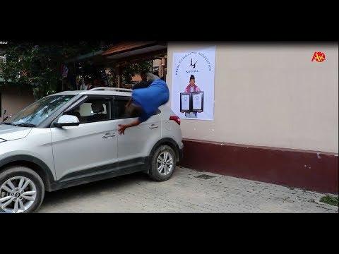 (अचम्मका नेपाली जसले २ पटक गिनिज बुकमा नाम लेखाइसके || Dinesh Parkour || Guinness World Record - Duration: 11 minutes.)