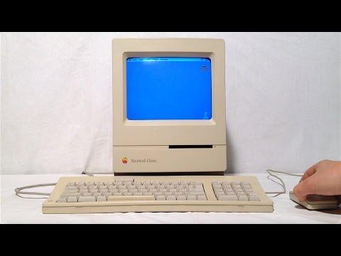 Обзор Apple Macintosh Classic на русском языке