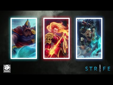 coming - Prepare yourself for the upcoming release of three new heroes. Login and play Strife now, and keep an eye on http://www.strife.com over the next few weeks for more info.