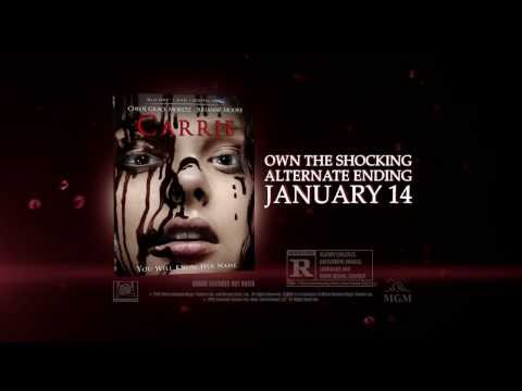 Carrie  Own it on Blu ray™ and DVD January 14th!