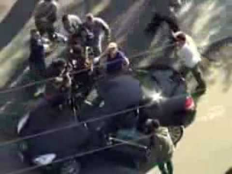 Helicopter Video of Paparazzi
