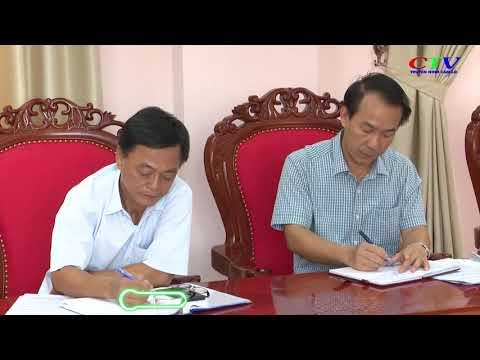 Tổ công tác chỉ đạo Đại hội tỉnh kiểm tra công tác chuẩn bị Đại hội Đảng bộ huyện