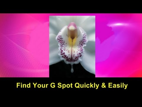 find your g spot quickly easily video tutorial g spot