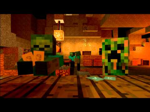 Mob Saloon - Minecraft Animation