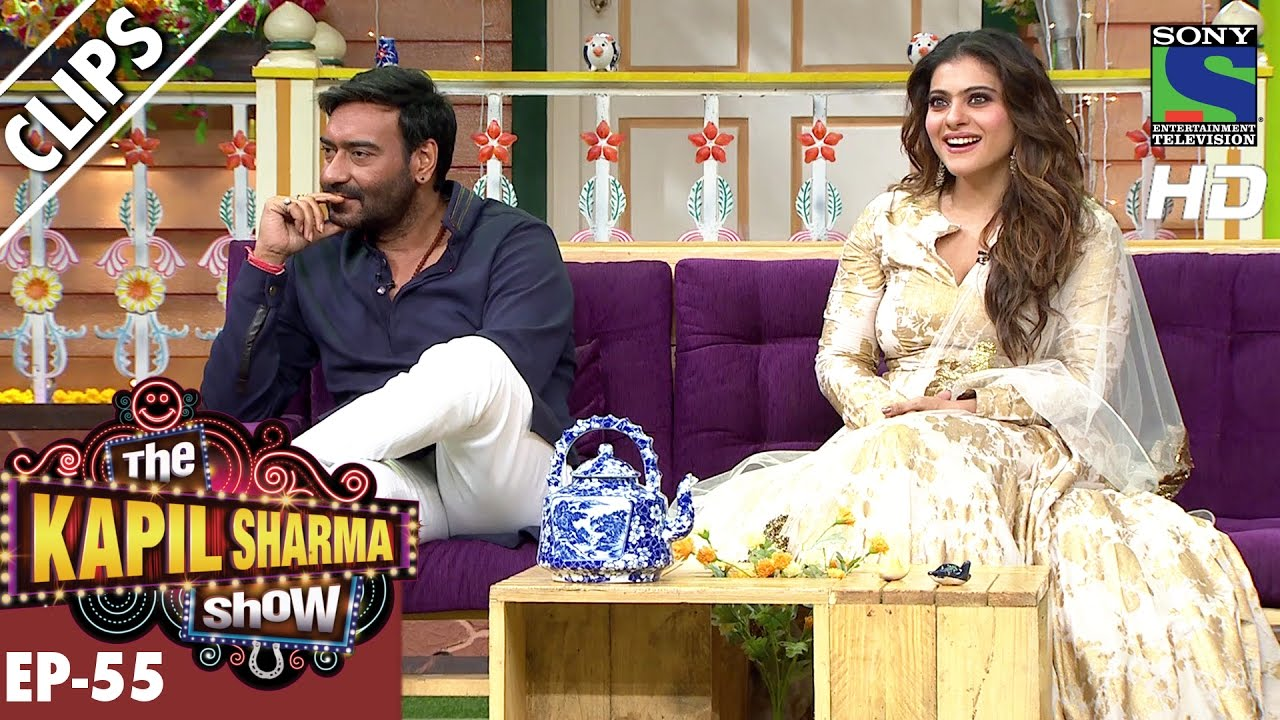Kapil welcomes Ajay Devgan and Kajol to the show -The Kapil Sharma Show-Ep.55-29th Oct 2016