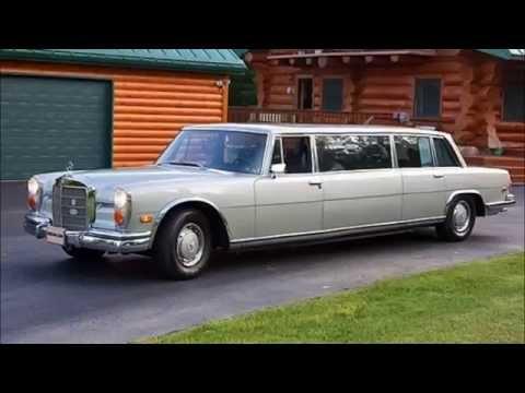 1970 Mercedes Benz Stretch 600 Limousine