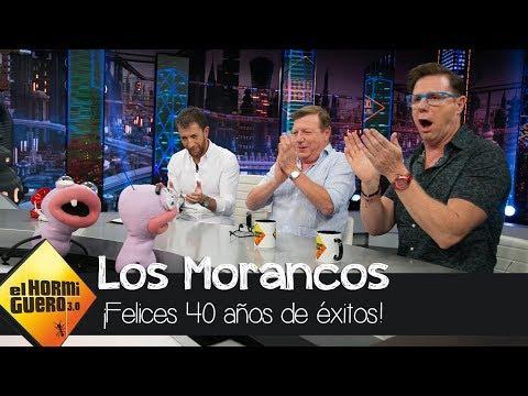 Frases de amigos - La emotiva felicitación de los amigos de Los Morancos por sus 40 años de éxitos - El Hormiguero 3.0