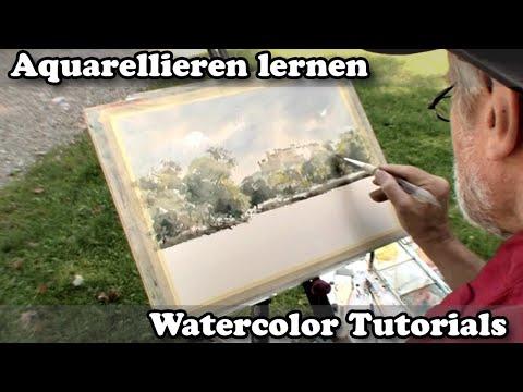 """Aquarell: """"Einfach malen"""" – Aquarellieren mit Wolfgang Baxrainer"""