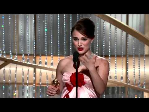 Natalie Portman's Laugh At Golden Globes 2011
