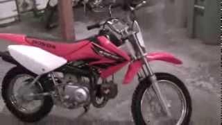 7. 2004 Honda CRF70f
