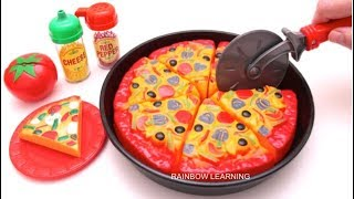 Video Toy Velcro Cutting Play Doh Pizza Microwave Toy Learn Fruits & Vegetables Toy Surprise MP3, 3GP, MP4, WEBM, AVI, FLV September 2017