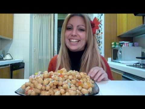 gli struffoli - ricetta