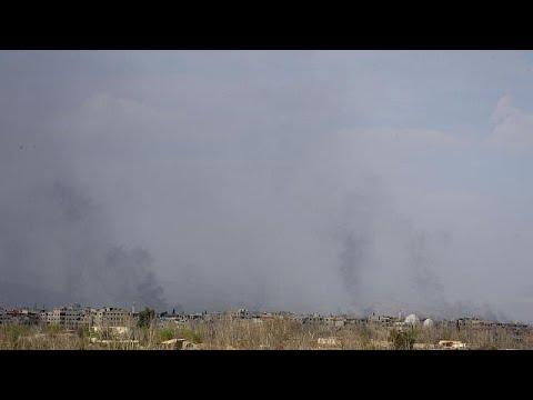 Συνεχίζονται οι μάχες στην ανατολική Γκούτα, κοντά στην πρωτεύουσα της Συρίας…