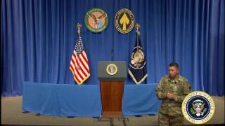 President Trump Remarks at MacDill Air Force Base President Trump delivers remarks to coalition members and senior U.S. commanders at MacDill Air Force Base ...