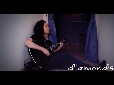 """Rihanna  """"Diamonds"""" Cover by Alycia Marie"""