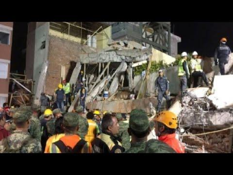 العرب اليوم - شاهد: المكسيك: 226 قتيلًا على الأقل في زلزال قوي يضرب وسط البلاد