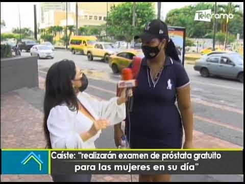 Caíste: Realizarán examen de próstata gratuita para las mujeres en su día