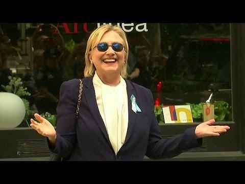 ΗΠΑ: Επιστρέφει στην προεκλογική μάχη η Χίλαρι Κλίντον