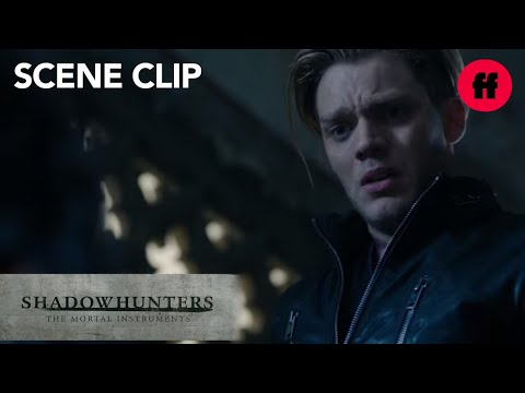 Shadowhunters   Season 1, Episode 9: Jace & Alec Fight   Freeform