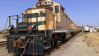 Oakdale (CA) United States  city photo : SIERRA RAILROAD operates 3rd oldest rail line in US from Oakdale California (1 of 2)