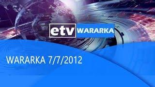 #etv WARARKA 7/7/2012|etv